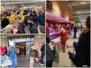 Щабът и полицията в Пловдив започват масови проверки заради претъпканите магазини