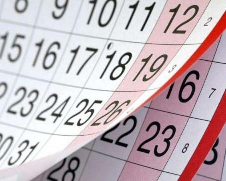116 почивни дни догодина, работим най-малко през май