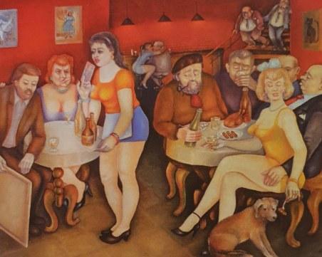 Отиде си художникът, който разказваше пловдивски истории с картини