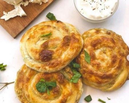 Най-добрата рецепта за банички със спанак и сирене