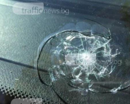 Семейна разправия завърши със стрелба по прозорците на жилищен блок