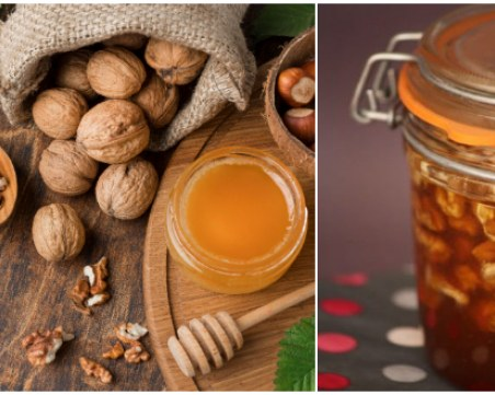 За силен имунитет и здраве: Направете си мед с орехи
