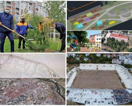 """Нови паркове и ремонт на важни артерии предвиждат в """"Източен"""", облекчават трафика с нови пътни връзки"""