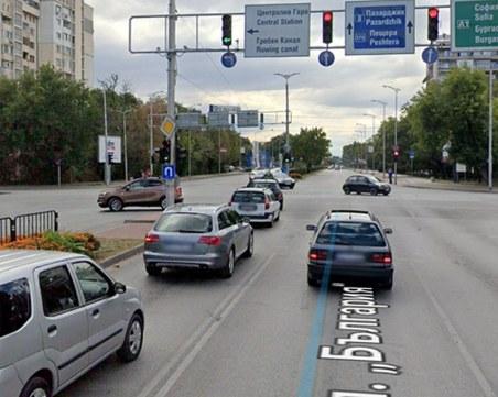 Пловдивчанин с предложение да се промени светофарния режим на ключово кръстовище