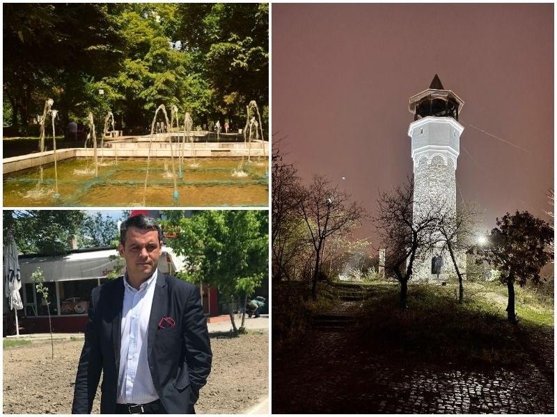 """Зелените пояси – основен акцент в бюджета на """"Централен"""", обновяват Градската градина и Сахат тепе"""