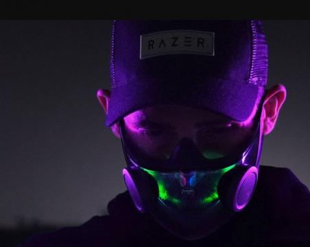 Компания за видеоигри произведе смарт маска за лице