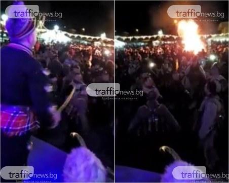 Огромно празненство със стотици хора се провежда в момента в град Батановци ВИДЕО