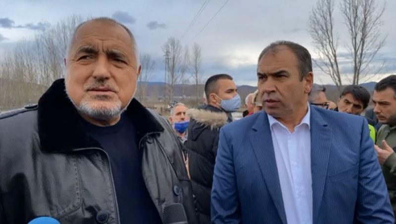 Борисов за падналия мост в Хаджидимово: До събота ще бъде изграден отново