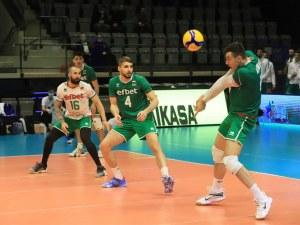 Волейболните национали се справиха с Израел във втория си мач от европейските квалификации