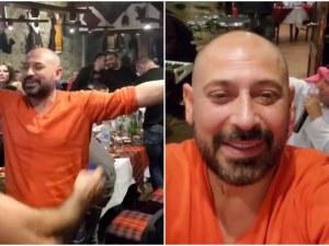 Турбо хитове и много алкохол! Ванко 1 купонясва здраво в кръчма в Канада