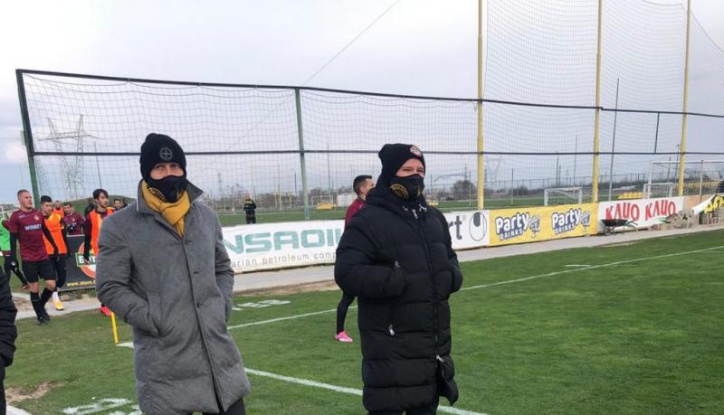 Антон Зингаревич гледа Ботев Пд в Коматево