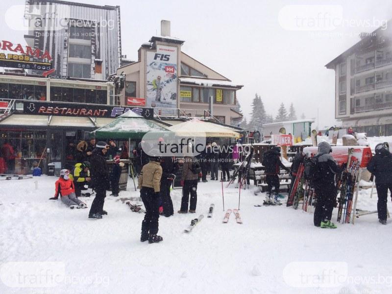 Ударна окупация на Пампорово! Стотици скиори и сноубордисти са препълнили бюфетите за хранене