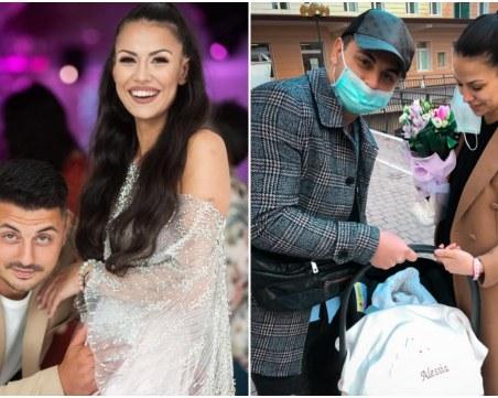 Александър Багаров-Италианеца и Дияна Вутова станах родители на момиченце