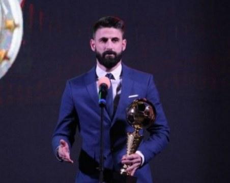 За втора поредна година Димитър Илиев е Футболист номер 1 на България