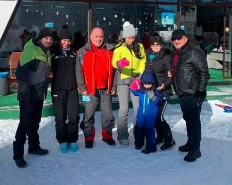 Музикалната фамилия Стоеви на чудна ски ваканция в Пампорово