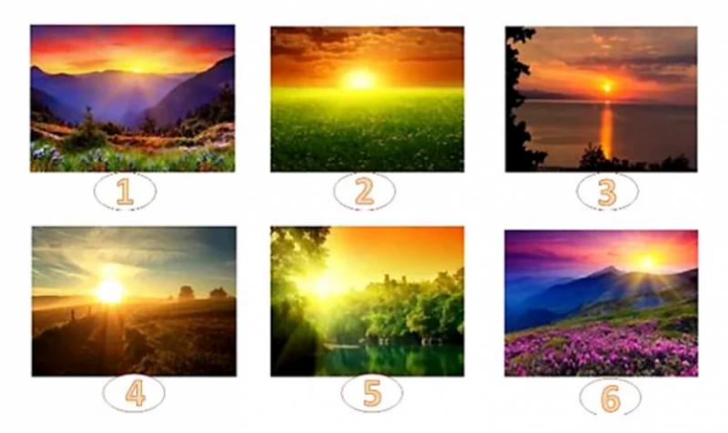 Изберете най-красивия изгрев и открийте посланието за вас