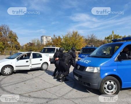 Трима арестувани по време на спецакция в Пловдив и Крумово