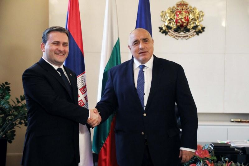 Борисов обсъди със сръбски министър магистрала