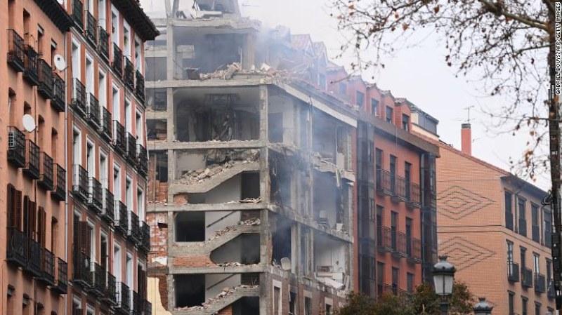Най-малко двама загинали и няколко ранени след експлозията в Мадрид