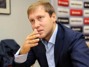 Антон Зингаревич официално влезе в борда на директорите на Ботев