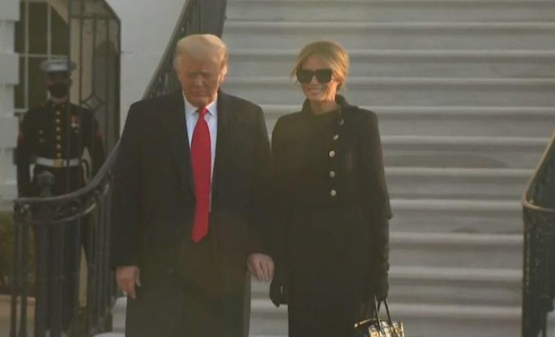 Тръмп напусна за последен път Белия дом