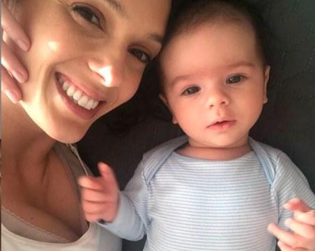 Луиза Григорова най-сетне показа лицето на малкия Бран