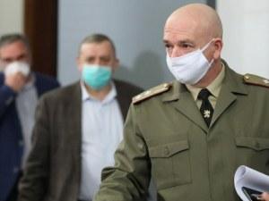 Ген. Мутафчийски: Ако не сме внимателни с мерките ни очаква 7 пъти повече заразни и починали