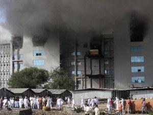 Най-малко 5 жертви от пожара в Индия