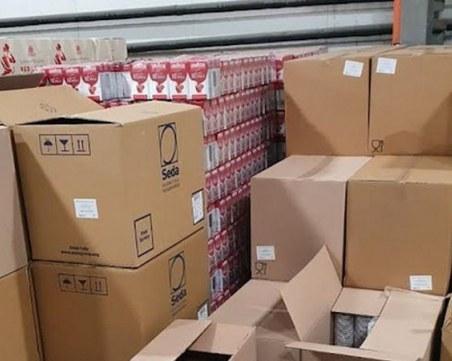 Иззеха тонове кафе от складове и магазини в Пловдив и страната