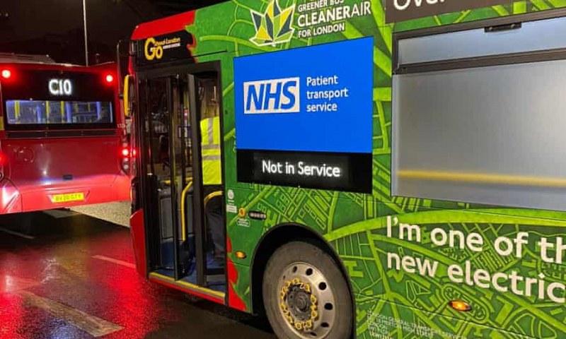 Лондонски автобуси се превърнаха в линейки