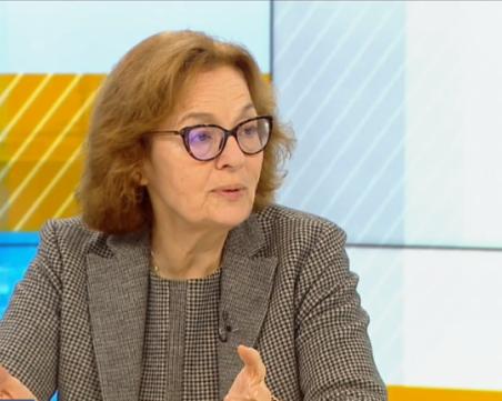 Проф. Коларова: При победа на ГЕРБ на вота ще се окаже, че Радев е вид креслива алтернатива