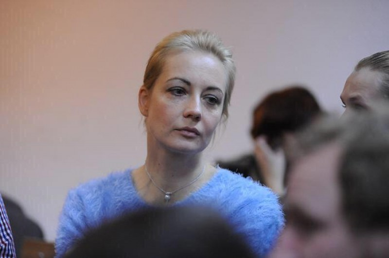 Освободиха съпругата на Навални, още арестувани протестиращи