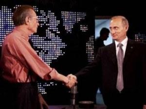 Путин изрази съболезнования за смъртта на Лари Кинг