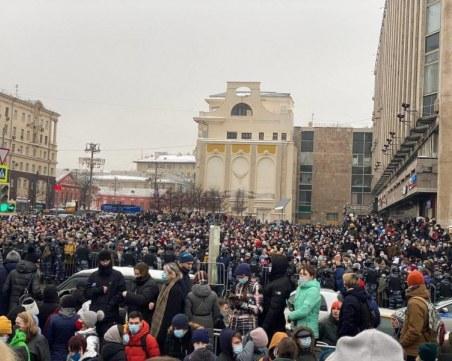 70 непълнолетни сред задържаните по време на протестите в Москва