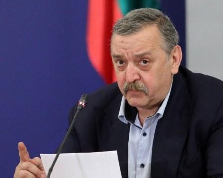 Кантарджиев: Няма да се поколебаем да закупим руска или китайска ваксина, стига да е безопасна