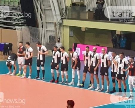 Волейболният Локомотив гостува на Марек за Купата