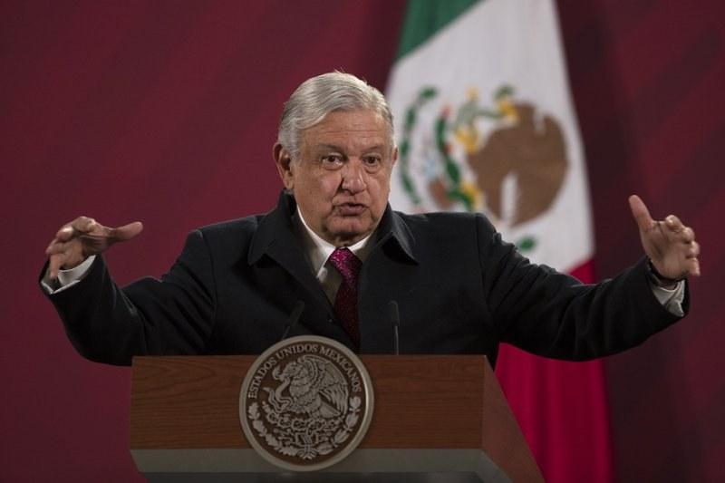 Мексиканският президент е дал положителна проба за COVID-19
