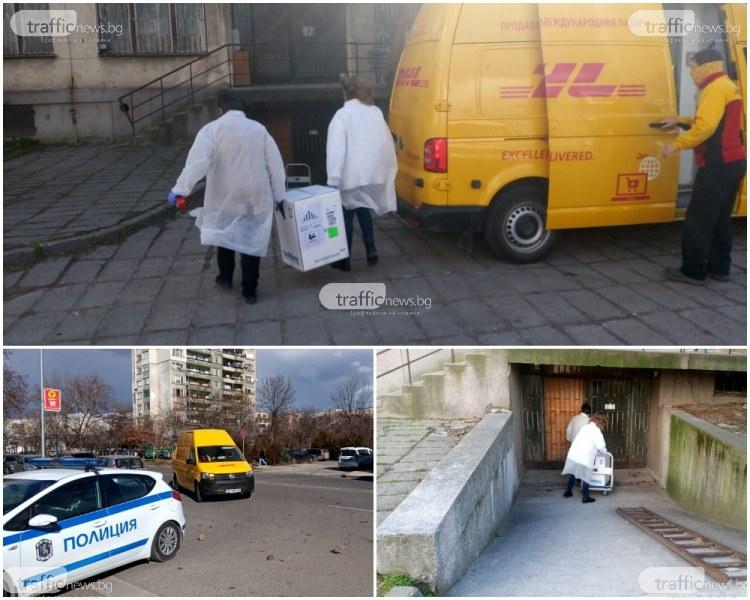 Поредна партида от ваксини срещу COVID-19  пристигна в Пловдив
