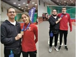 Пловдивските атлети Мартин Димитров и Пламена Миткова с нови рекорди