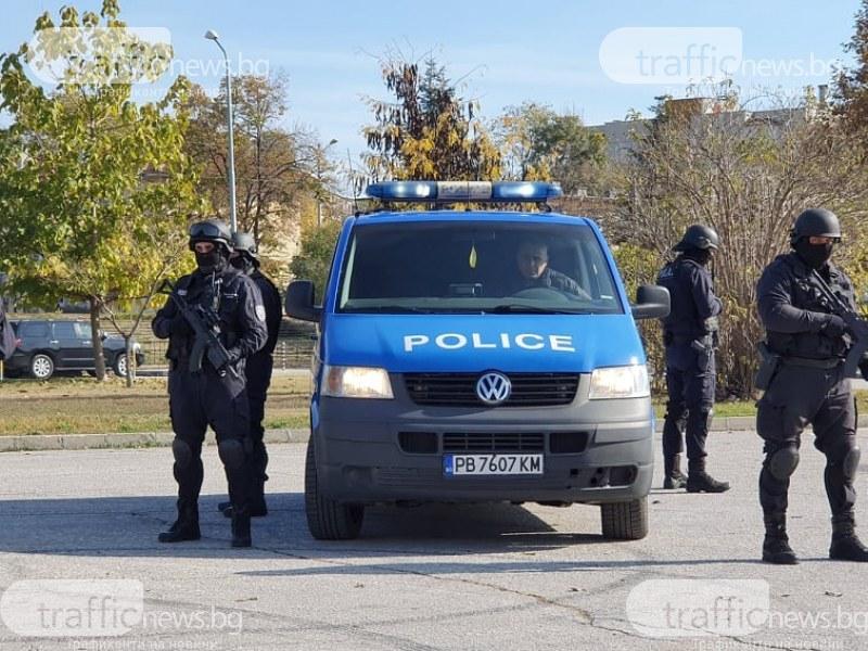 Удар на полицията! Петима са арестувани с дрога в Пловдив и Карлово