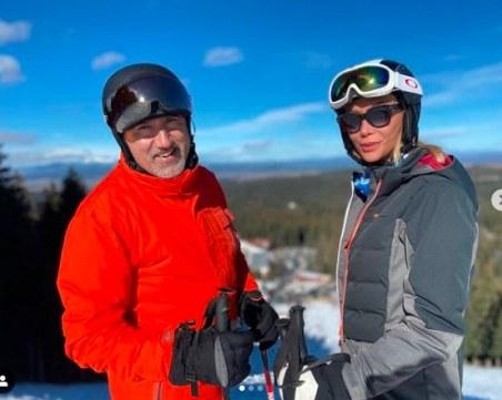 Любимата на Башар Рахал похвали родните зимни курорти и ски пистите