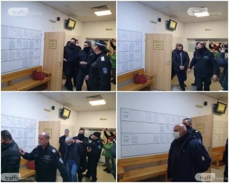 Постоянен арест за фалшификаторите на документи и пловдивския полицай Боян Кабашки