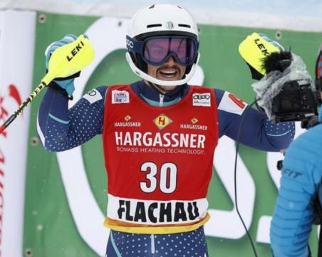 Страхотен Алберт Попов с шесто място в Шладминг