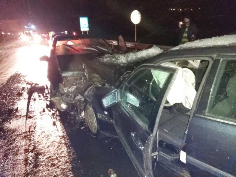 Тежка верижна катастрофа на пътя София-Кулата, има ранени