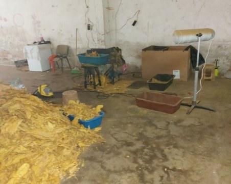 Разбиха депо за нелегален тютюн край Пловдив, трима от Столипиново са арестувани