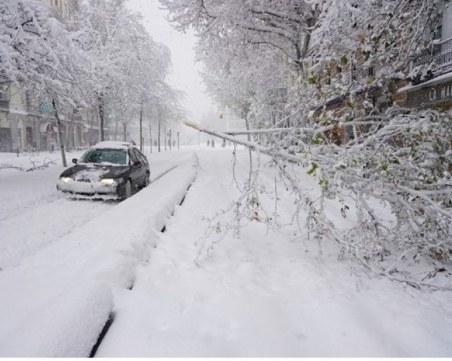 Заради снега: 250 малки населени места останаха без ток