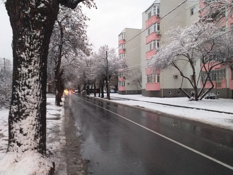 60 машини са почиствали пътищата в Пловдив тази нощ