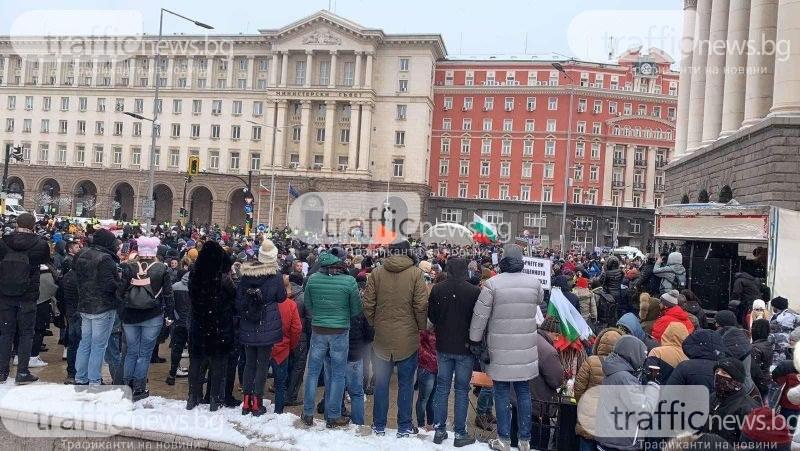 Ресторантьорският бранш се надигна! Над 4000 души блокираха центъра на София