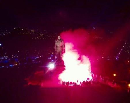 Огнен флашмоб на Бунарджика в памет на жертвите на Народния съд