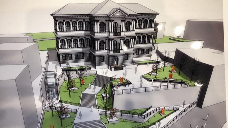 Превръщат двора на Градската галерия в Стария град в скулптурна градина с 500 000 лева